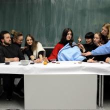 Gruppenfoto der Fachgruppe Kunstgeschichte.
