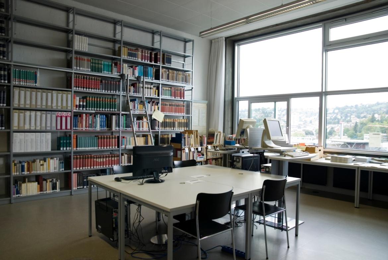Bibliothek des Instituts für Kunstgeschichte (IKG) (c) Institut für Kunstgeschichte Universität Stuttgart