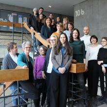 Mitarbeiterinnen und Mitarbeiter am Institut für Kunstgeschichte.